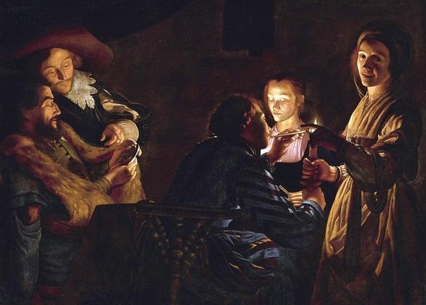 «Тёмный гений» нидерландской живописи XVII века Адам де Костер (1586 1643) художник из Южных Нидерландов эпохи раннего барокко. Знаменит своим «фирменным» стилем кьяроскуро (в переводе с