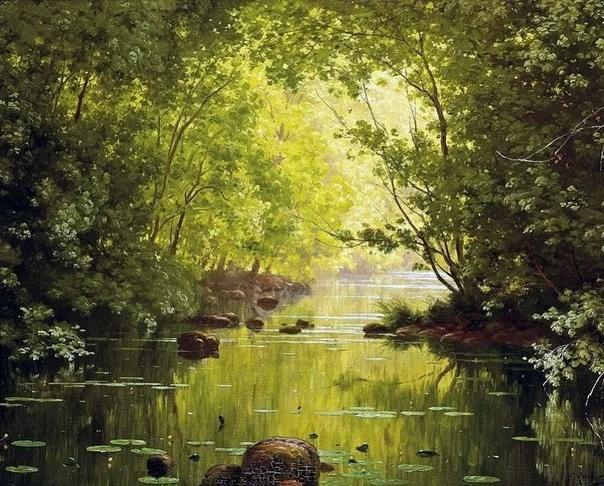 Французский художник Рене Шарль Эдмон Хис (Rene Charles Edmond His 1877 1955). Учился живописи у мастеров своего времени. Завоевал призвание и любовь своим