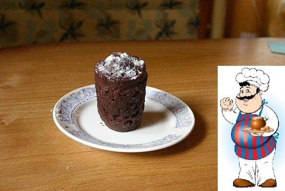 Шоколадный кекс за 5 минут!