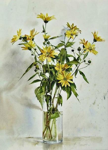 Атанас Мацурев современный художник-акварелист родом из Болгарии Глядя на его работы, можно провести параллель с одним недавно ушедшим мастером современности Эндрю Уайетом. И Мацурев не скрывает