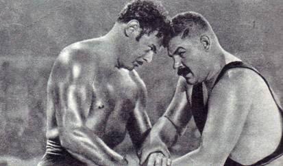 Как Рауль ле Буше «победил» Ивана Поддубного В 1903 году известный российский атлет Иван Максимович Поддубный отправился на мировое первенство по французской борьбе, которое проходило в Париже.