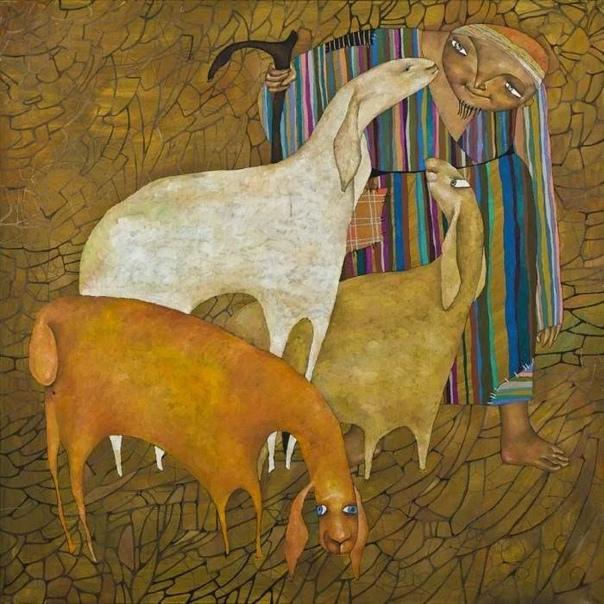 Талантливая художница из Казахстана Акжана Абдалиева (Azhana Abdalieva , получившая всемирное признание благодаря своему таланту, трудолюбию и стремлению к самосовершенствованию.Родившись в 1975