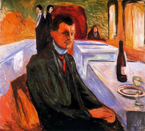 Эдвард Мунк. Автопортреты (1881-1906)