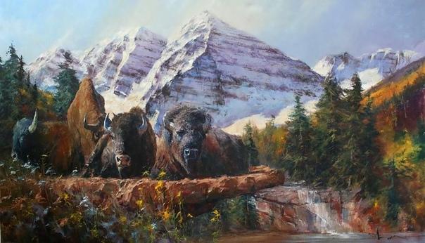 Роберт Хаган (Robert Hagan - австралийский художник, родился 10 мая 1947 года в городе Мервиллумба, Южный Уэльс, Австралия. Он рос в районе богатых лесов субтропического севера Нового Южного