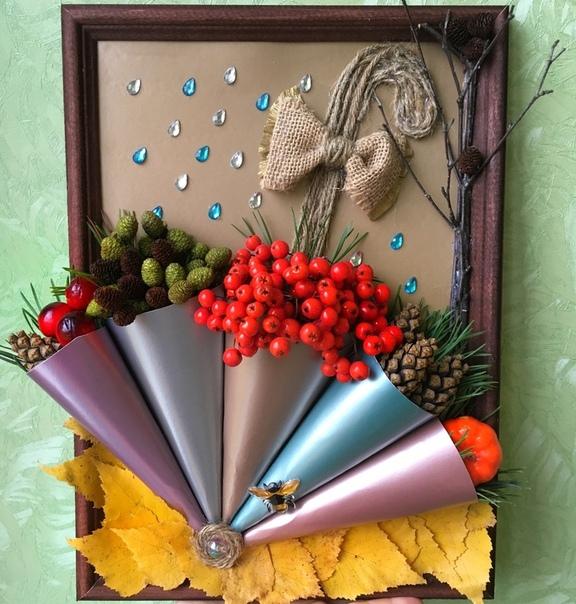 Осенний зонтик Автор: Валиева