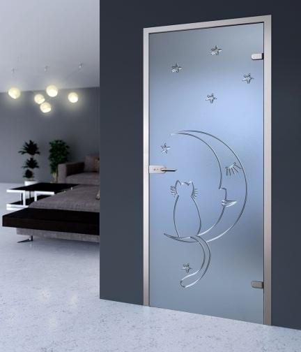 Купить стеклянную дверь для душевой ниши Подольск