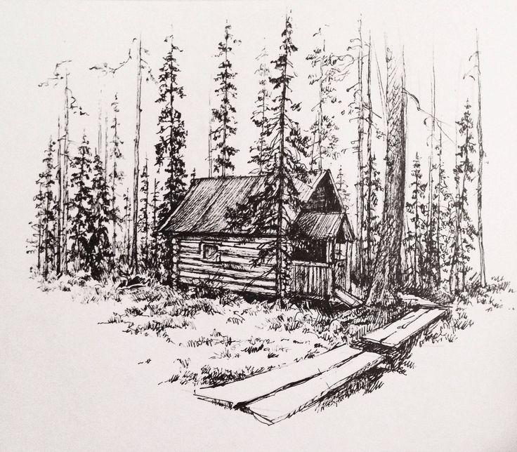 Домик затерянный в лесу