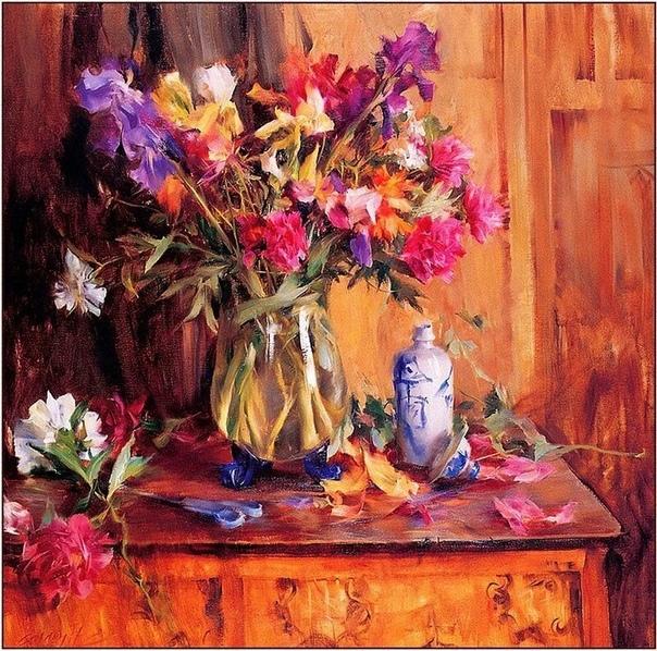 Вьетнамский художник Куанг Хо (Quang Ho