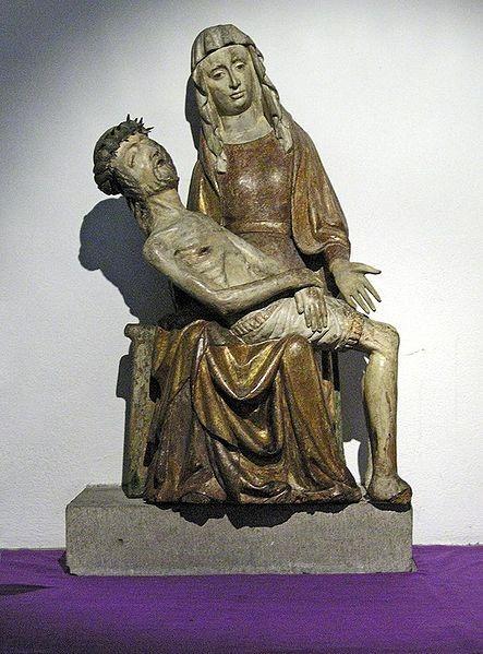 Становление и происхождение скульптурного образа композиции Пьета и его средневековая трактовка.