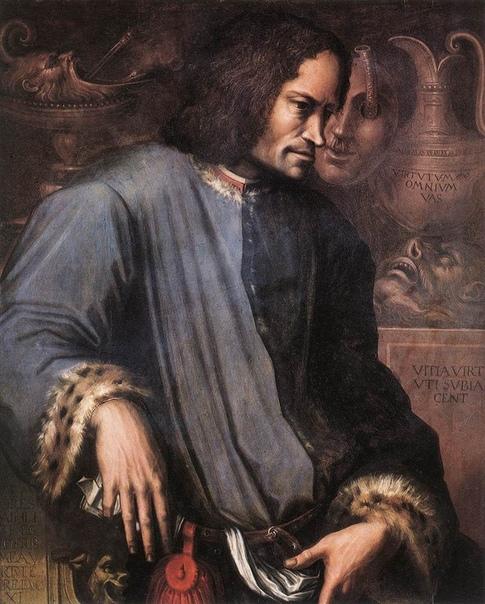 «Портрет Лоренцо Великолепного», Джорджо Вазари
