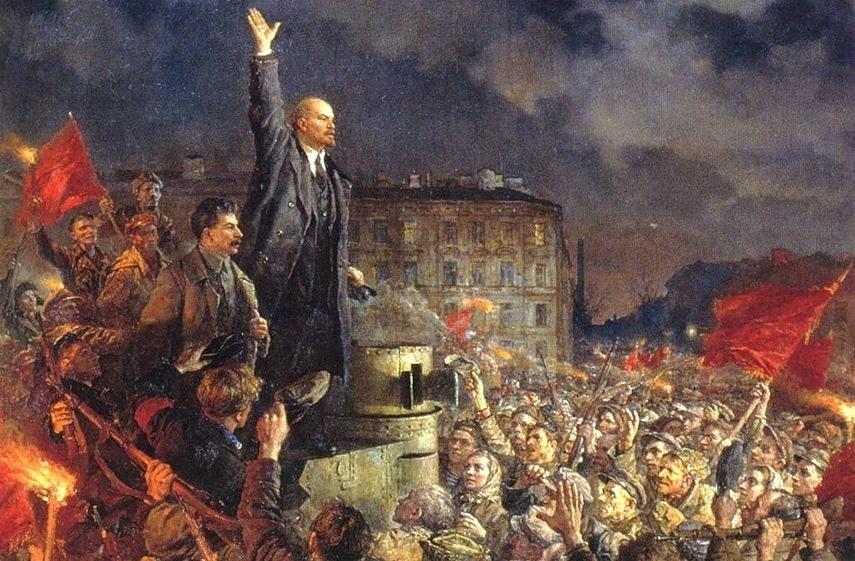 Революция 1917 в картинках
