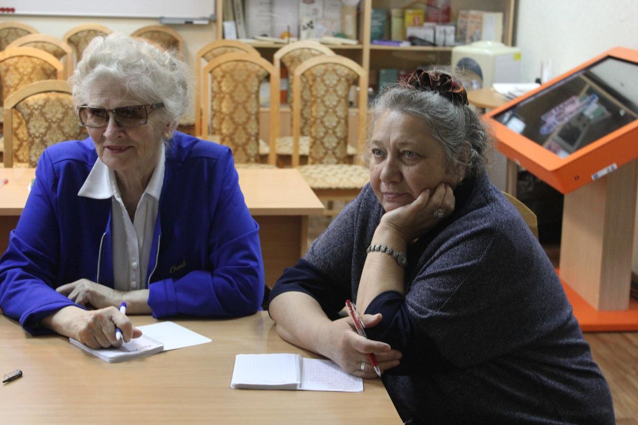 Заседание Инклюзивного поэтического клуба