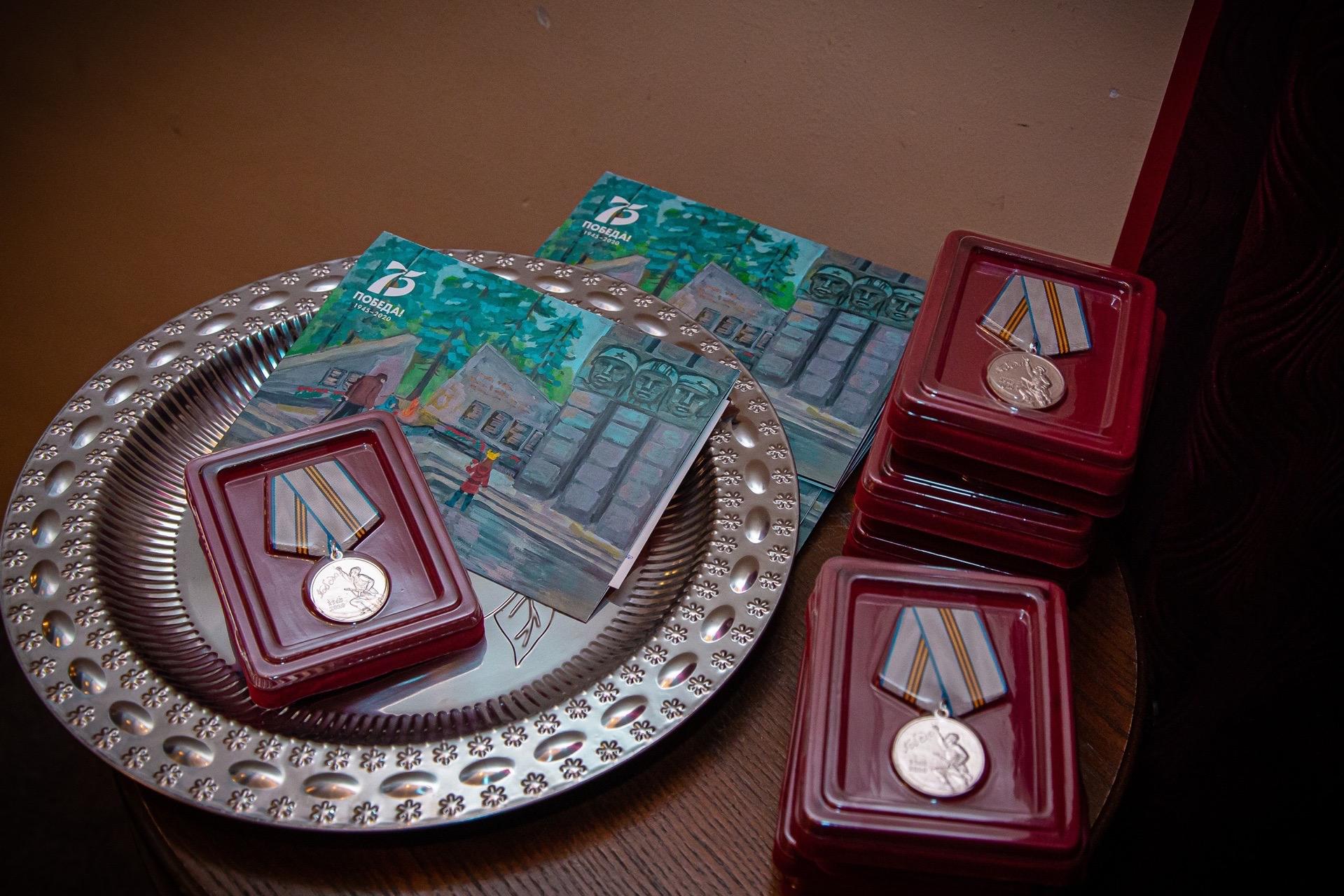 В ТДМК начали вручать медали