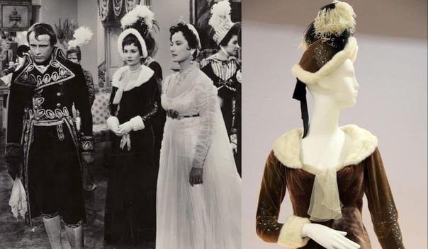 Костюмы фильма Любовь императора Франции (1954). Картина получила номинацию на премию Оскар за лучший дизайн