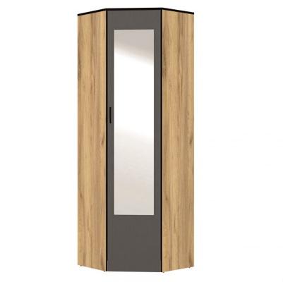 «Ольга — Лофт» № 9.2 шкаф угловой с зеркалом