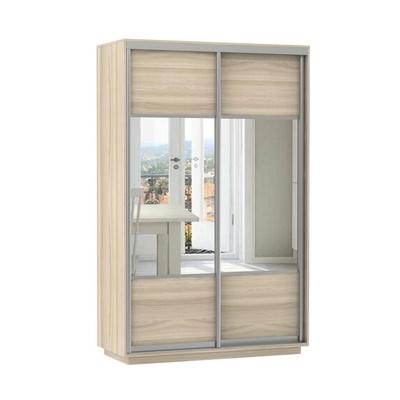Шкаф Экспресс Комби дуо (фасад зеркало) ш 1400