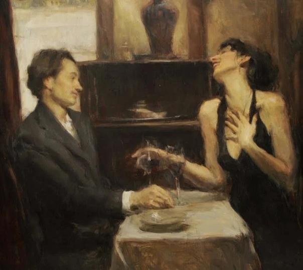 on Hics (Рон Хикс известный американский живописец. Он родился в 1965 году в штате Огайо, в городе Колумбус. Выбирать, чем заниматься по жизни, художнику особо не пришлось: он родился в