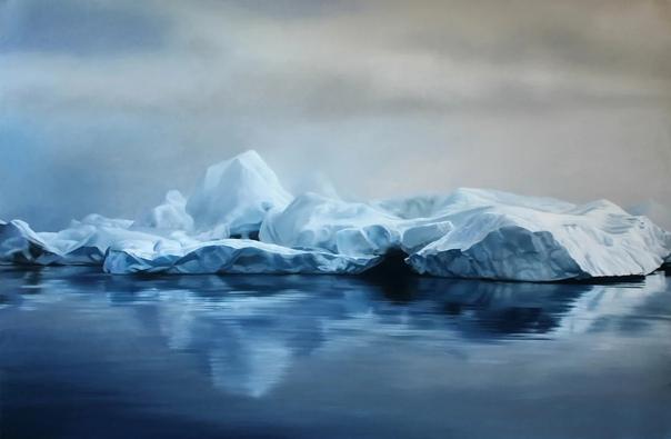 Зария Форман. Зария рисует гиперреалистичные картины пастелью, на которых изображены ледники Гренландии и морские пейзажи. В своих работах она старается донести до зрителя красоту и хрупкость