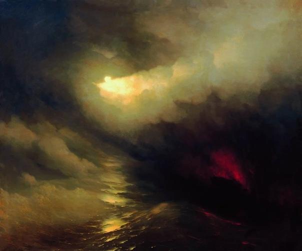Иван Константинович Айвазовский (1817 - 1900 - известный русский художник. Окончил Академию Художеств в 1843 г. В 1847 г. получил звание профессора живописи. Считается одним из лучших