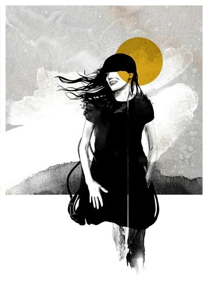 Норвежский художник Сив Сторёй создает гравюры, плакаты и картины, в основном выполненные в смешанной технике: карандаш, чернила, акварель и фотографии «В конечном счете, я считаю, что эти
