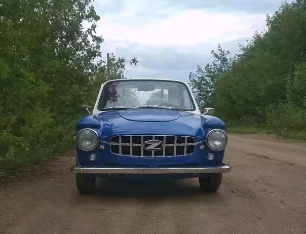 Житель Уфы похвастался тем, что своими руками собрал спорт-купе из старенького автомобиля марки ЗАЗ-968
