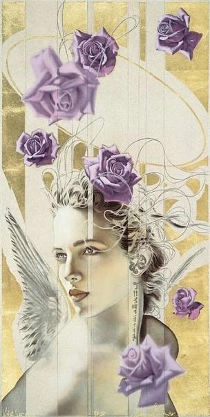 Женская чистота и божественный символизм в картинах американо-испанского художника-модерниста Мануэль Нуньес (младший
