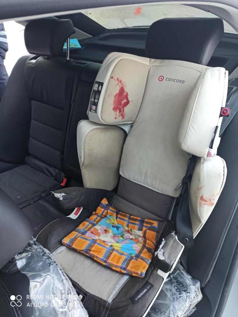 В ДТП пострадали женщина и ребёнок