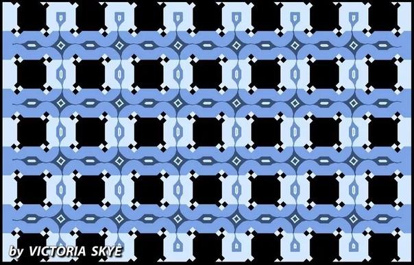 Посмотрите на удивительную оптическую иллюзию, приводящую восприятие человека в тупик